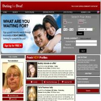 Dating for deaf