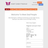 Free deaf people dating sites