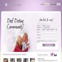 Deaf dating free online